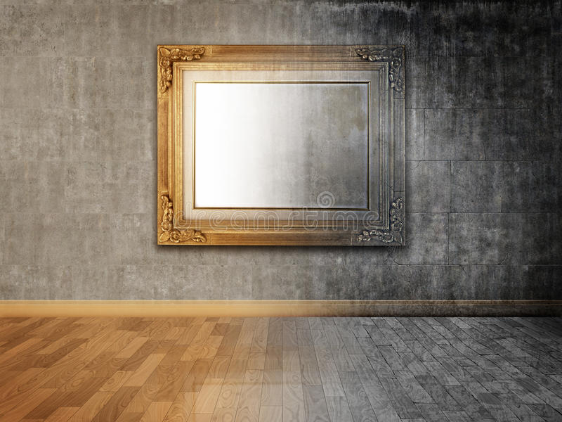Stroom van tijd vector illustratie