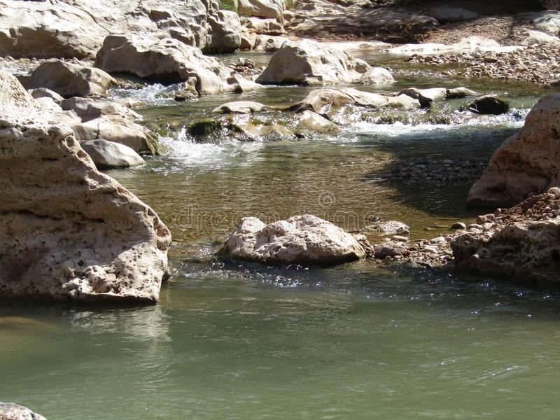 Stroom van water royalty-vrije stock foto's