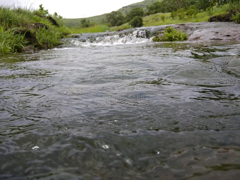 Stroom van Water van Waterval stock foto's