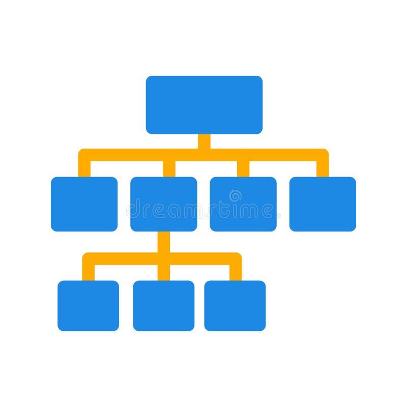 stroomschema stock illustratie