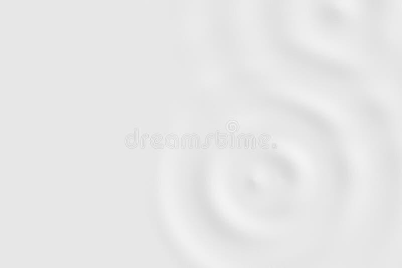 Stroomversnellingring met vloeibare rimpeling, zachte textuur als achtergrond stock illustratie
