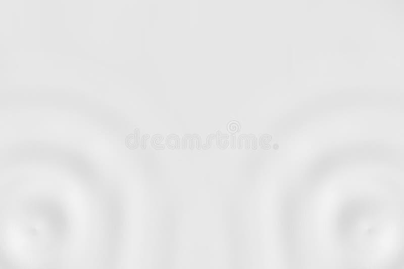 Stroomversnellingring of witte melkoppervlakte, zachte textuur als achtergrond stock illustratie