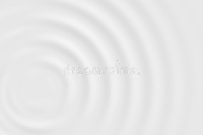 Stroomversnellingring of witte melkoppervlakte, zachte textuur als achtergrond royalty-vrije illustratie