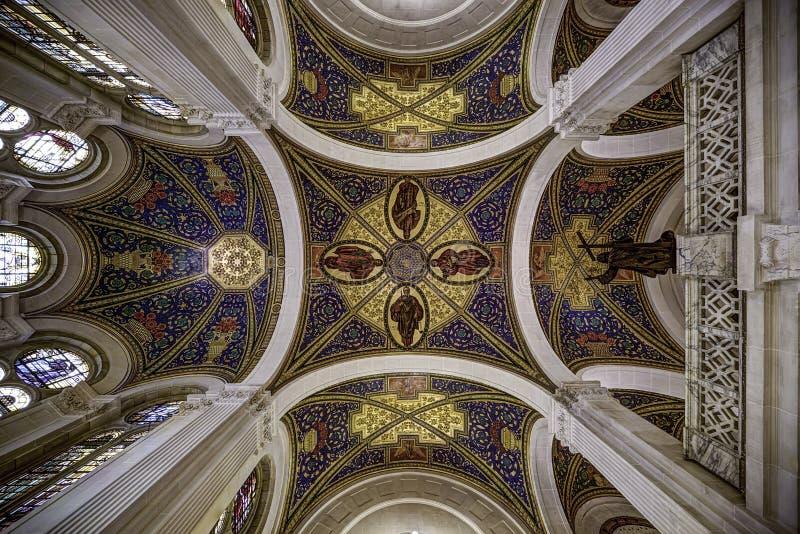 Stropować pokoju pałac obraz royalty free