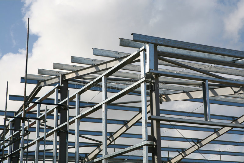 Structural Steelwork royalty free stock photo