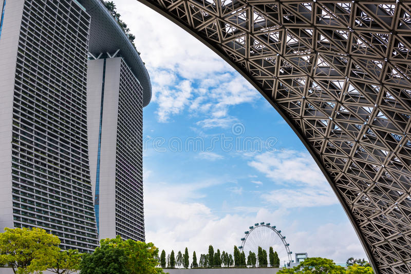 Structure aluminium facade detailing and building background., A stock photo