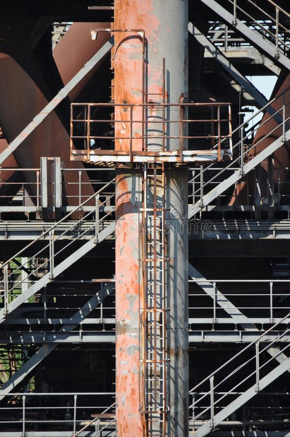 Structure, Architecture, Scaffolding, Metal stock photography