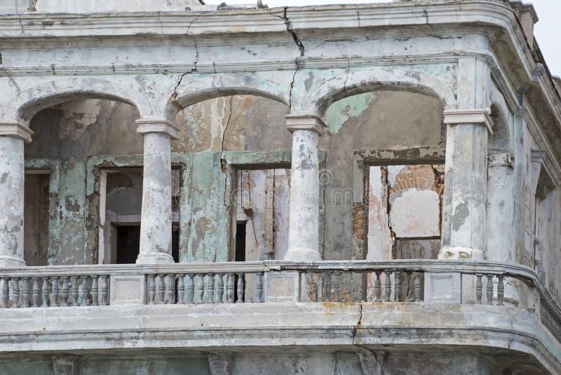 Structure coloniale espagnole à vieille La Havane photos libres de droits