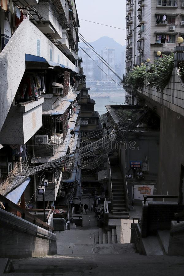 Structure complexe des b?timents r?sidentiels en Chine photos stock
