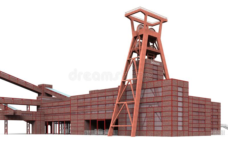 Structure, Construction, Building, Crane royalty free stock photos
