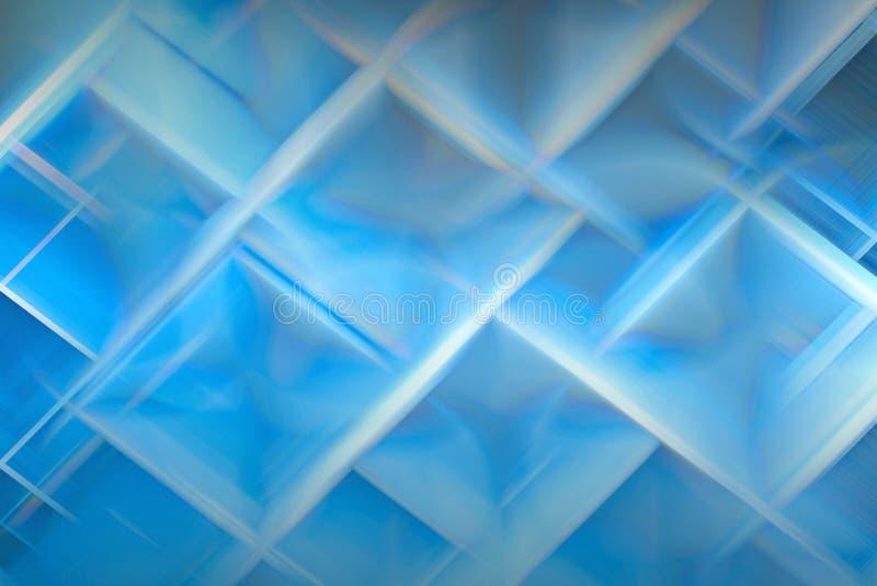 Structure cristalline illustration libre de droits