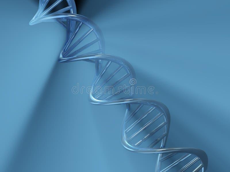 Structure d'ADN illustration de vecteur