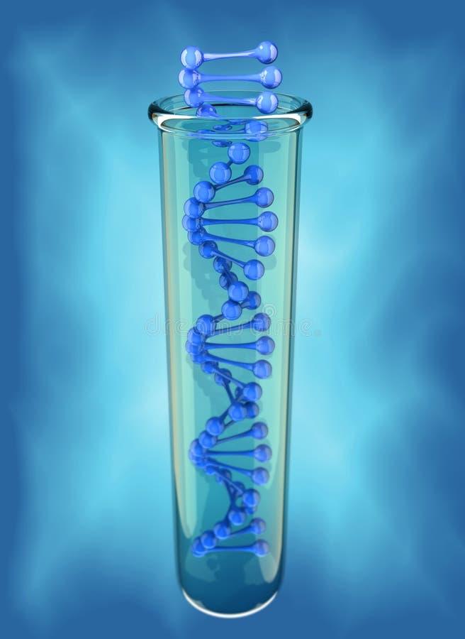 Structure d'ADN illustration libre de droits
