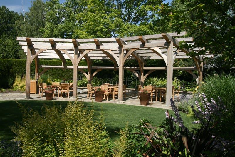 Structure de jardin photographie stock
