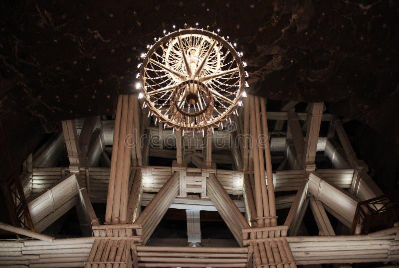 Structure de mine photographie stock libre de droits