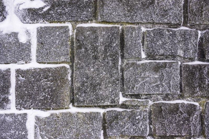 Structure de mur en pierre de Milou - horizontale images stock