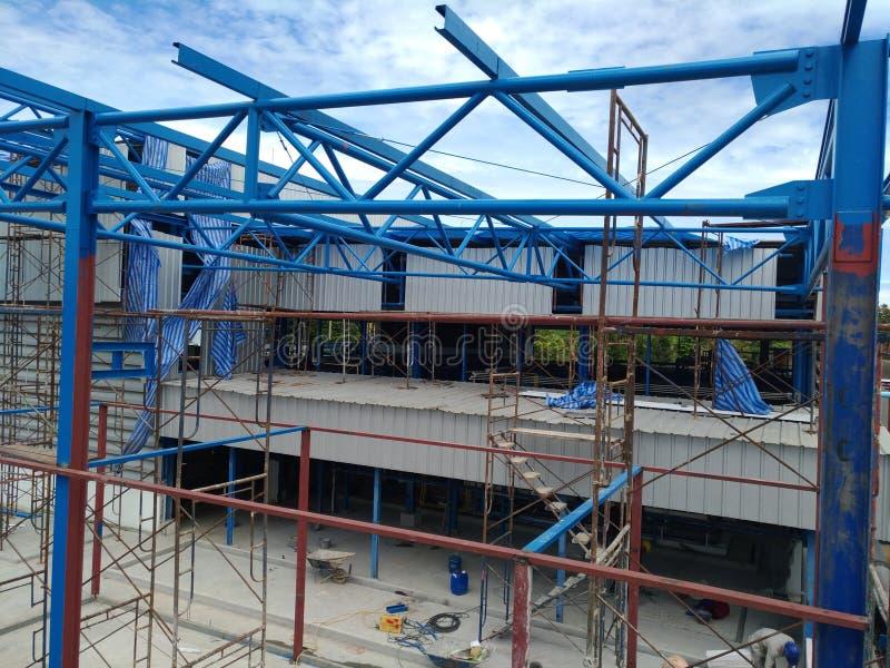 Structure de toit photo libre de droits