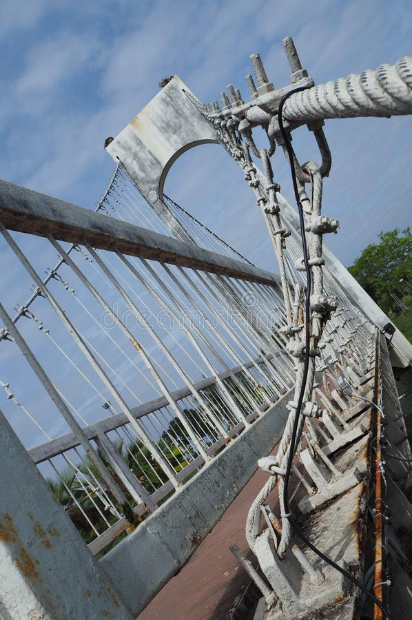 Structure du pont photo stock