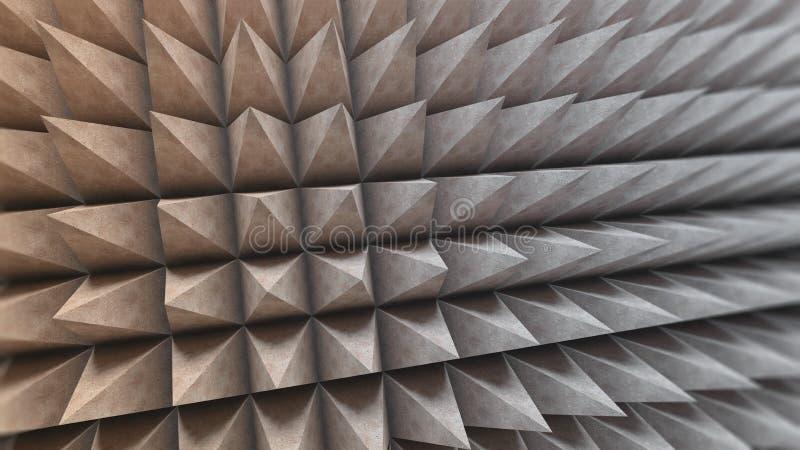 Structure en béton abstraite illustration de vecteur