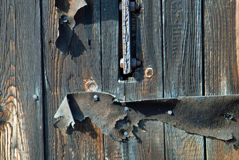 Structure en bois gentille - vieil en bois photos libres de droits