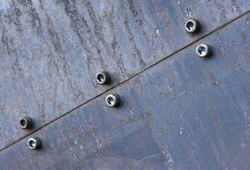 Structure en métal - 6 photo libre de droits