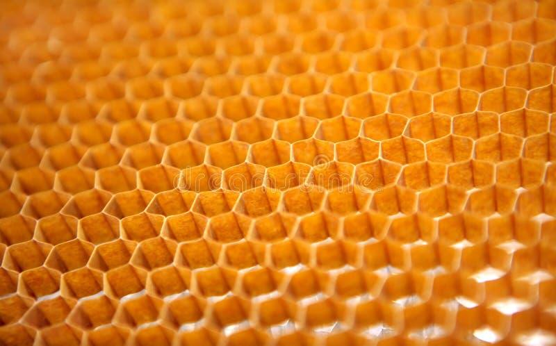 Structure en nid d'abeilles pour l'industrie aérospatiale images stock