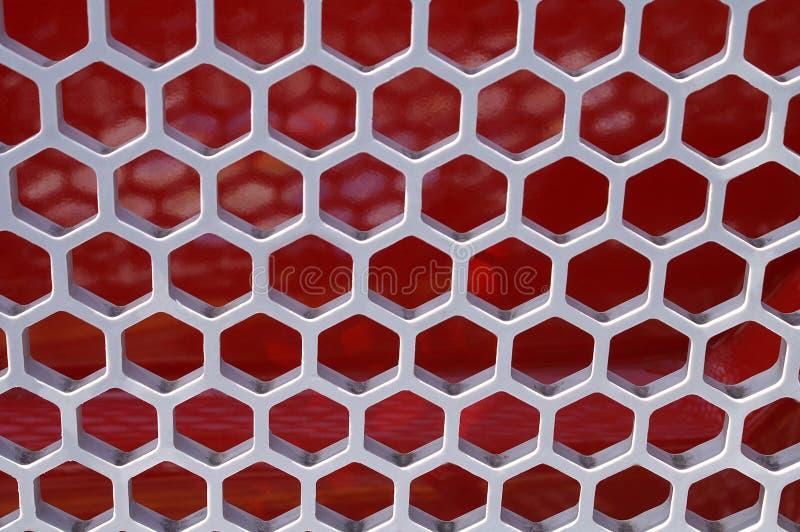 Structure formée par nid d'abeilles photo stock