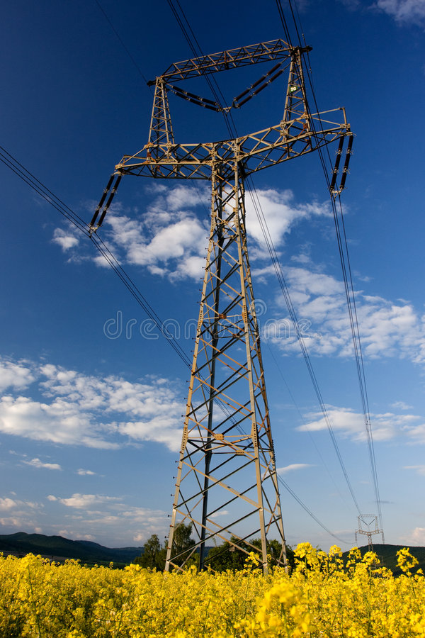 Download Structure Of Framework Electricity Stock Photo - Image: 5440272