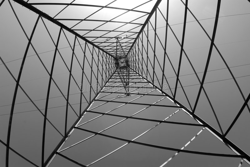 Structure geometric framework royalty free stock photo