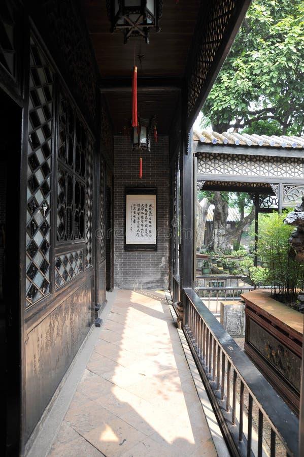 structure historique de couloir image stock