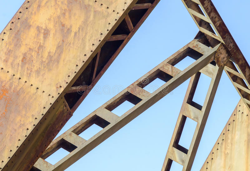 Structure industrielle images stock