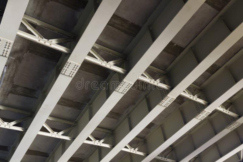 Structure Of The Iron Bridge Stock Image