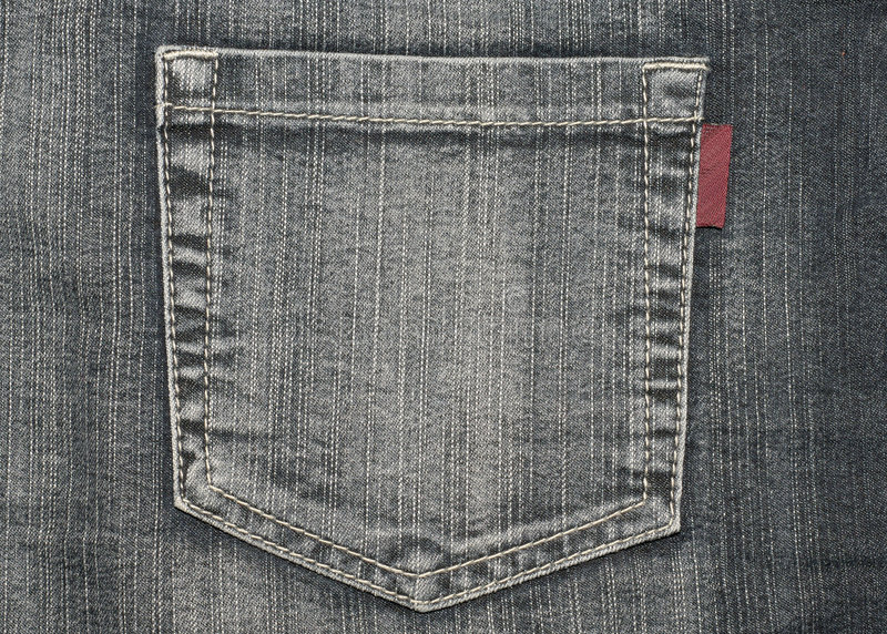 Download Structure Of Jeans (pocket) Stock Photo - Image: 7957108