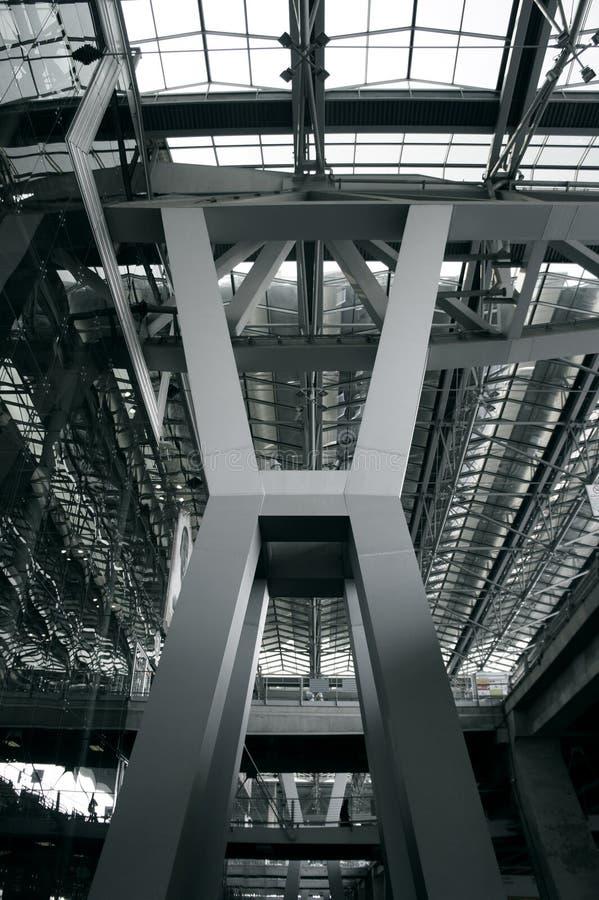 Structure métallique photos stock