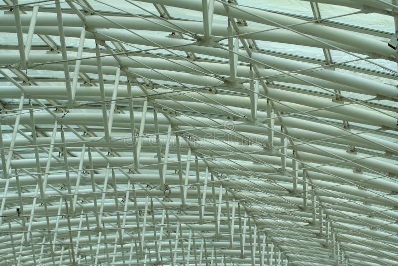 Structure métallique photo stock