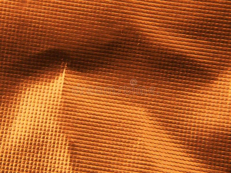 Structure métallique d'or La texture du clinquant images stock