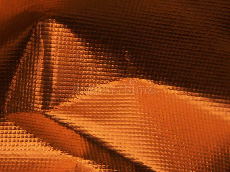 Structure métallique d'or La texture du clinquant images libres de droits
