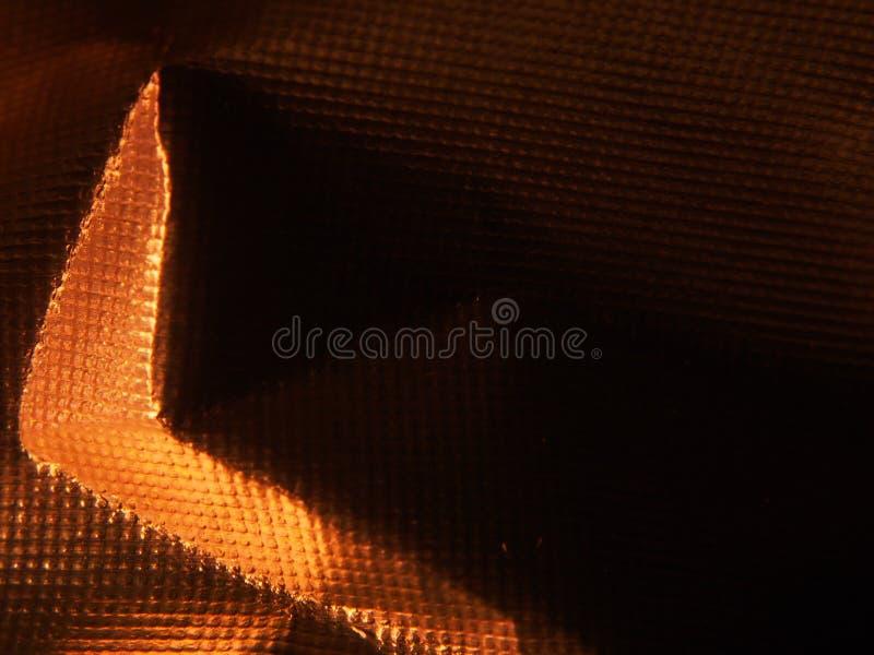 Structure métallique d'or La texture du clinquant photo stock
