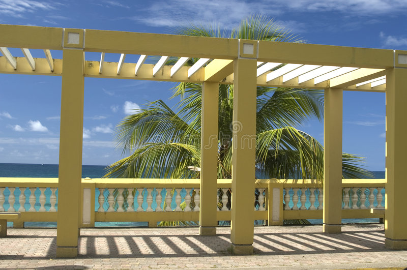 Download Structure On  Malecon Vieques Royalty Free Stock Photo - Image: 2307975