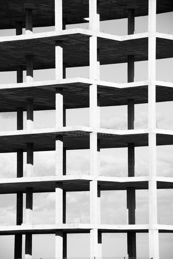 Structure noire et blanche photographie stock