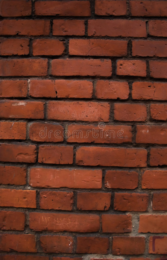 Free Structure Of An Old Red Brick Wall Royalty Free Stock Photography - 7357387