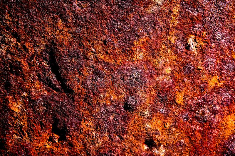 Structure of rusty iron tubes royalty free stock image