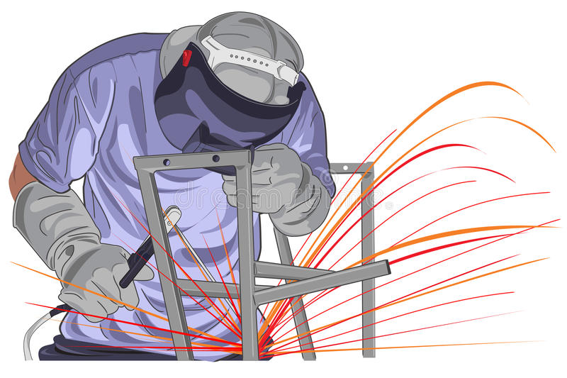Structure Welding royalty free stock photo
