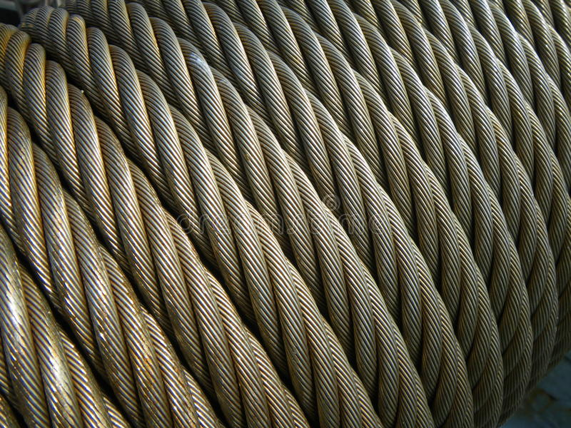 Download Structure Wire Rope Steel Cable Stock Photo