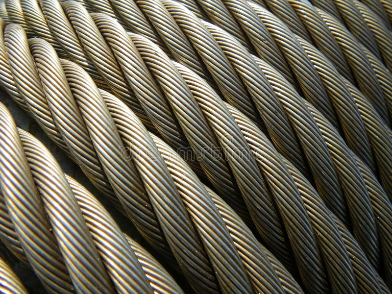 Structure: Wire Rope / Steel Cable Stock Photo - Image of structure ...