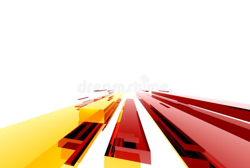 Structure011 astratto illustrazione di stock