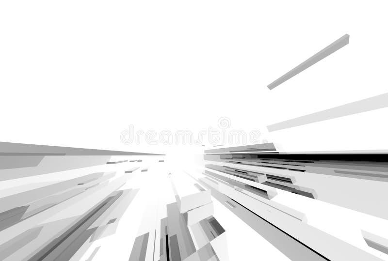 Structure027 abstracto ilustración del vector