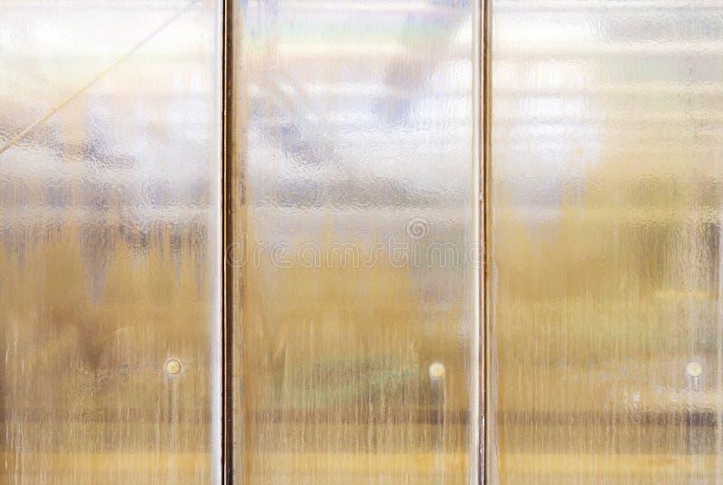 Structureel glasvenster voor achtergronden royalty-vrije stock afbeelding