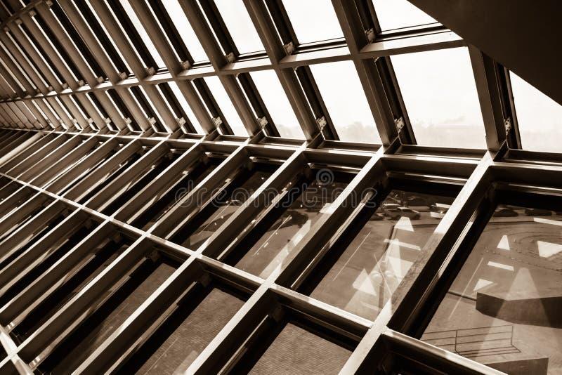 Structureel staal royalty-vrije stock afbeelding