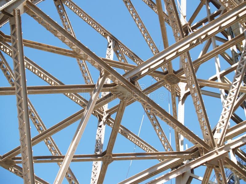 Structureel staal. stock fotografie